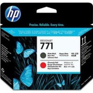 Hewlett Packard No771 Design Jet Print Head Matte Black/Red CE017A