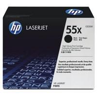 Hewlett Packard No55X LaserJet Toner Cartridge High Yield Black CE255X