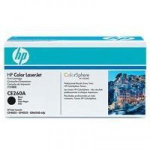 Hewlett Packard No647A LaserJet Toner Cartridge Black CE260A