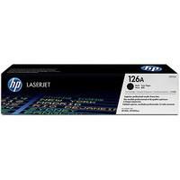 Hewlett Packard [HP] No. 126A Laser Toner Cartridge Page Life 1200pp Black Ref CE310A