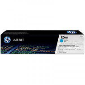 Hewlett Packard [HP] No. 126A Laser Toner Cartridge Page Life 1000pp Cyan Ref CE311A