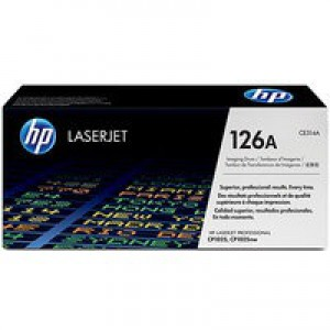 Hewlett Packard [HP] No. 126A Laser Drum Unit Page Life 14000pp Black/7000pp Colour Ref CE314A