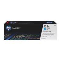 Hewlett Packard [HP] No. 128A Laser Toner Cartridge Page Life 1300pp Cyan Ref CE321A