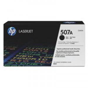 Hewlett Packard LaserJet Toner Cartridge 507A Black CE400A