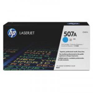 Hewlett Packard [HP] No. 507A Laser Toner Cartridge Page Life 6000pp Cyan Ref CE401A