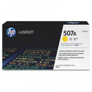 Hewlett Packard [HP] No. 507A Laser Toner Cartridge Page Life 6000pp Yellow Ref CE402A