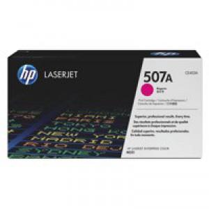 Hewlett Packard LaserJet Toner Cartridge  507A Magenta CE403A