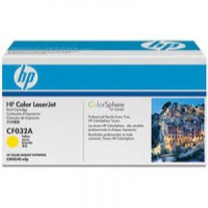 Hewlett Packard Colour LaserJet Toner Cartridge Yellow CF032A