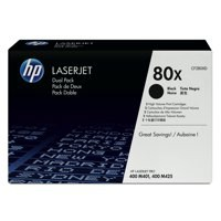HP 80X LaserJet Toner Cartridge Black Twin Pack CF280XD