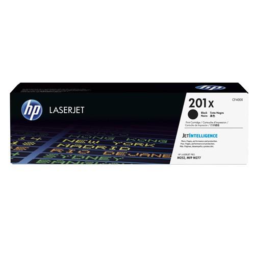HP 201X Black H/Y LaserJet Toner CF400X