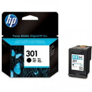 Hewlett Packard No301 Ink Cartridge Black CH561EE