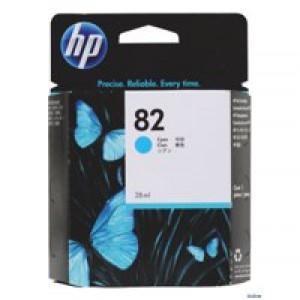 Hewlett Packard No82 Inkjet Cartridge Cyan 28ml CH566A