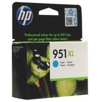 Hewlett Packard No951XL OfficeJet Inkjet Cartridge Cyan CN046AE