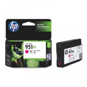 Hewlett Packard No951XL OfficeJet Inkjet Cartridge Magenta CN047AE