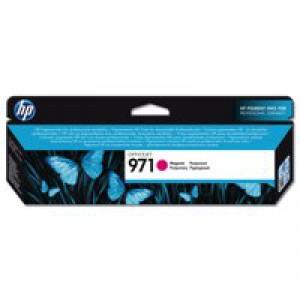 Hewlett Packard No971 Officejet Ink Cartridge Magenta