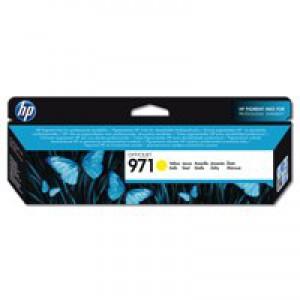 Hewlett Packard No971 Officejet Ink Cartridge Yellow