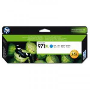 Hewlett Packard No971XL Officejet Ink Cartridge Cyan