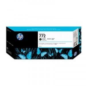 Hewlett Packard No772 Design Jet Inkjet Cartridge 300ml Matte Black CN635A