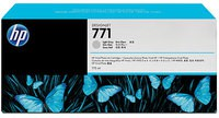 Hewlett Packard No771 Design Jet Inkjet Cartridge 775ml Pack of 3 Light Grey CR257A