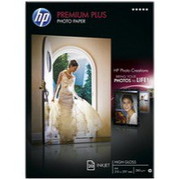 Hewlett Packard Photo Paper 300gsm Glossy A4 Pack of 20 CR672A
