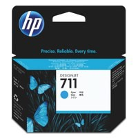 HP711 Cyan Ink Cartridge 29ml CZ130A Pk1