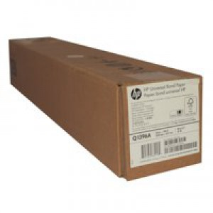 Hewlett Packard Universal Inkjet Bond Paper 610mm x45.7 Metres Q1396A