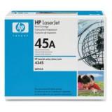 Hewlett Packard [HP] No. 45A Laser Toner Cartridge Page Life 18000pp Black Ref Q5945A