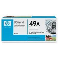 Hewlett Packard No49A LaserJet Toner Cartridge Black Q5949A