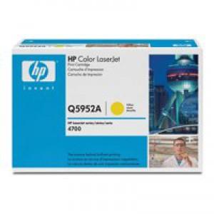 Hewlett Packard No643A LaserJet Toner Cartridge Yellow Q5952A