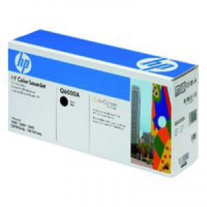 Hewlett Packard No124A LaserJet Toner Cartridge Black Q6000A