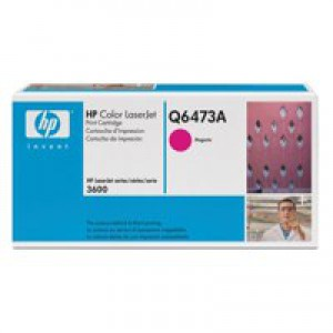 Hewlett Packard No502A LaserJet Toner Cartridge Magenta Q6473A