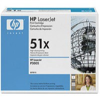 Hewlett Packard LaserJet Contract Cartridge Black Q7551XC