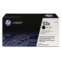 Hewlett Packard No53X LaserJet Toner Cartridge High Yield Black Q7553X