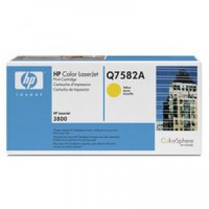 Hewlett Packard No503A LaserJet Toner Cartridge Yellow Q7582A