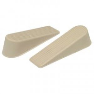 Door Wedge Cream/White Pack of 2 9132
