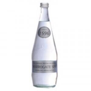 Harrogate Spring Bottled Water Sparkling 330ml Pack of 24