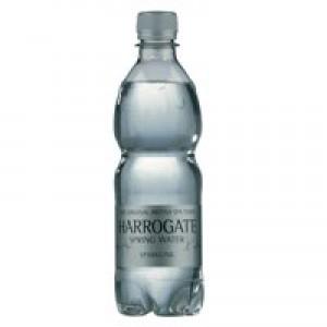 Harrogate Spa Bottled Water Sparkling 500ml Pet Bottle Pack of 24