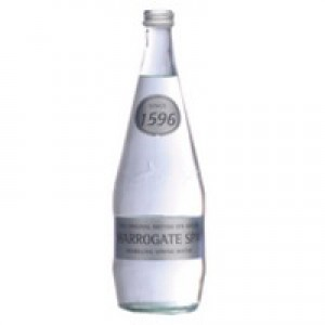 Harrogate Spring Bottled Water Sparkling 750ml Pack of 12