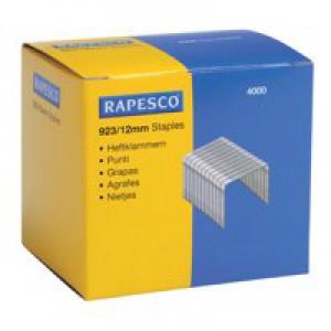 Rapesco Staples 923 Series 12mm Pack of 4000