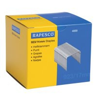 Rapesco Staples 923 Series 14mm (Pk 4000)
