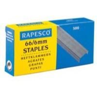 Rapesco Staples 8mm 66/8mm Pack of 5000