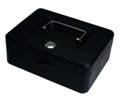 Helix Value Cash Box 8 inch Black WN7010