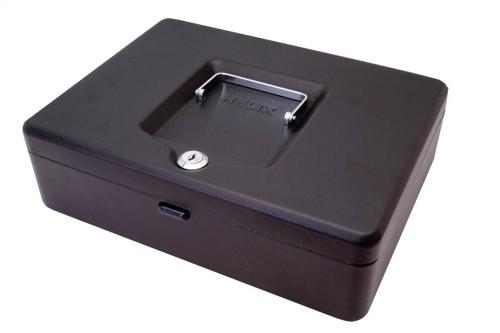 Helix Value Cash Box 12 inch Black WN9010