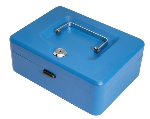Helix Value Cash Box 8 inch Blue WN7080