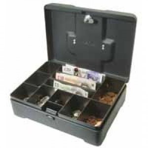 Helix High Capacity Cash Box Anthracite CM8020