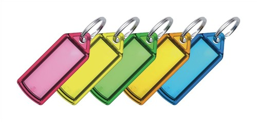 Helix Sliding Key Fob Small Assorted Pack of 100 F32060
