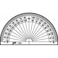 Helix Protractor 10cm 180 Degree H01010