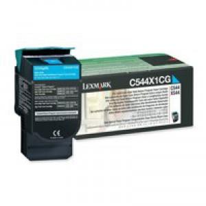 Lexmark Extra High Yield Return Programme Toner Cyan C544X1CG