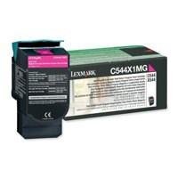 Lexmark Extra High Yield Return Programme Toner Magenta C544X1MG