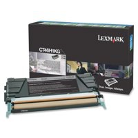 Lexmark C746 Return Programme Toner Cartridge High Yield Black C746H1KG